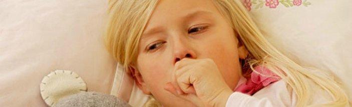 детский сухой кашель